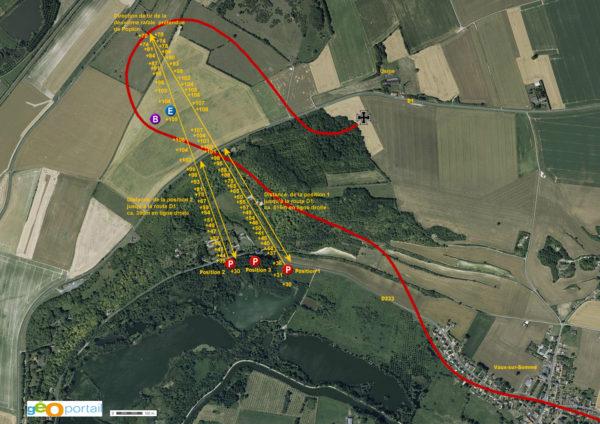 Karte Geo Hoehenprofile FR