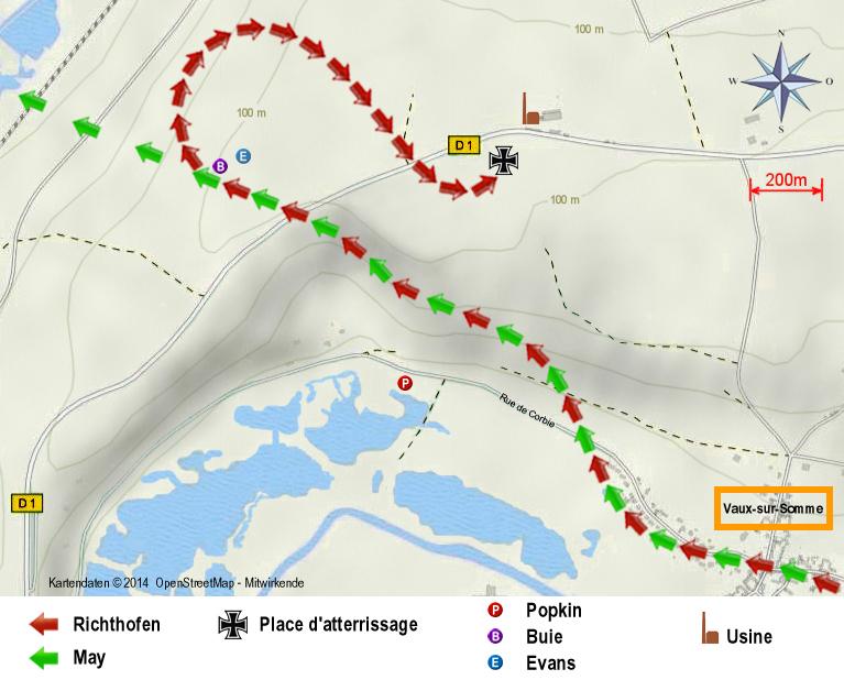 Map Vaux FR