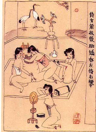 Vagin de fille chinoise