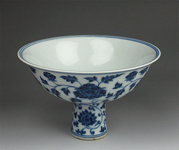 tasse porcelaine Ming