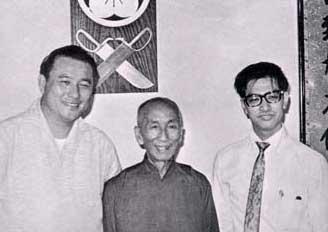 Tang Sang Yip Man et Leung Ting du Wing chun
