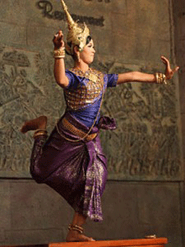 Apsara dansante