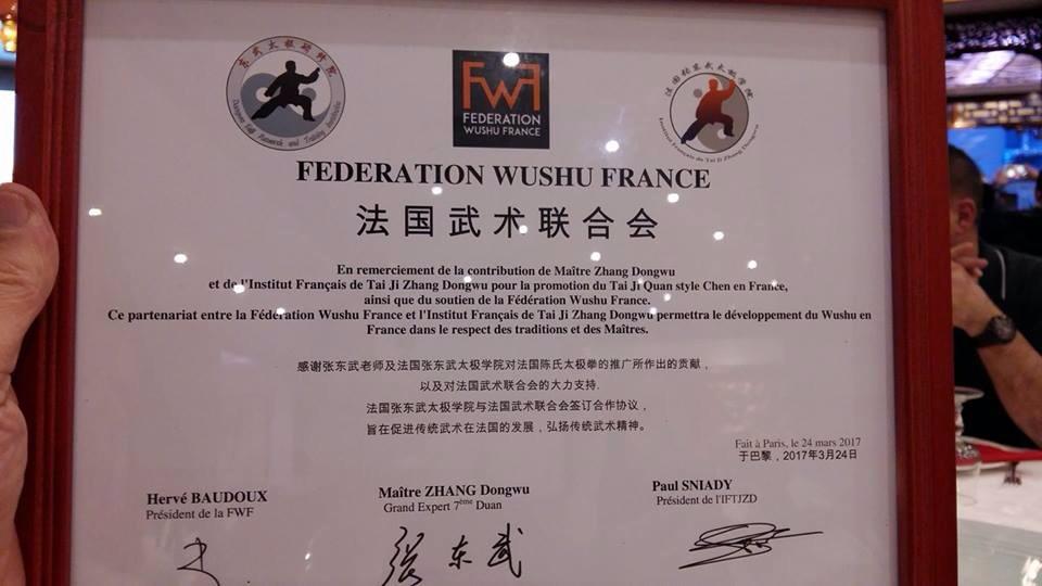 Partenariat FWF et Institut Zhand Dondwu