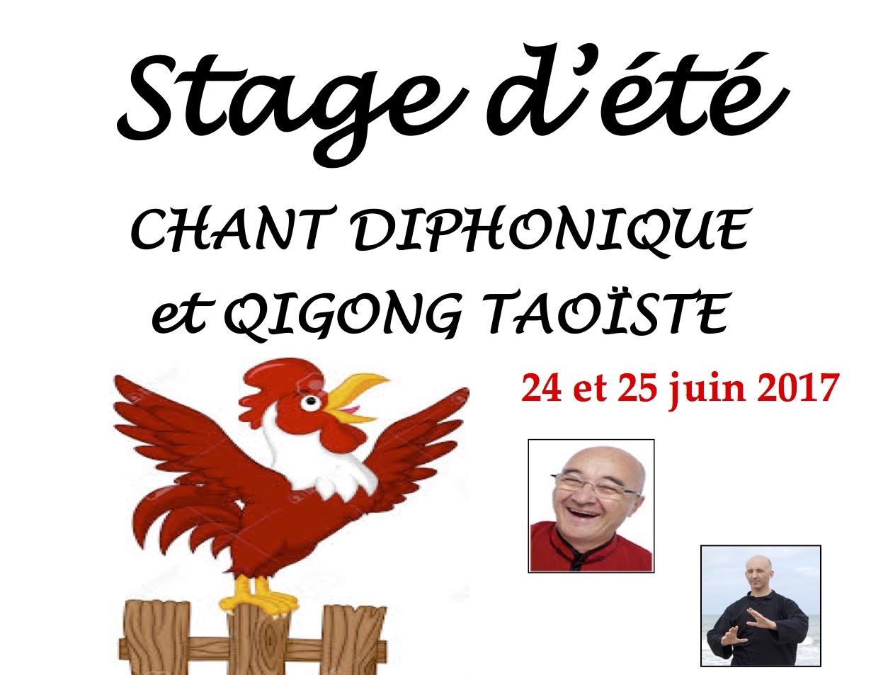 STAGE D'ETE - CHANT DIPHONIQUE ET QIGONG TAOISTE
