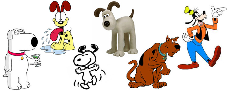 Cartoon-dogs-quiz