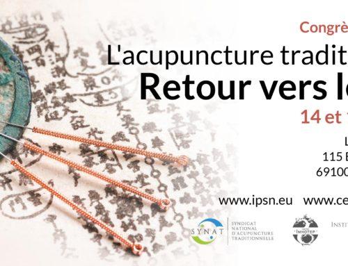 1er Congrès d'acupuncture – LYON