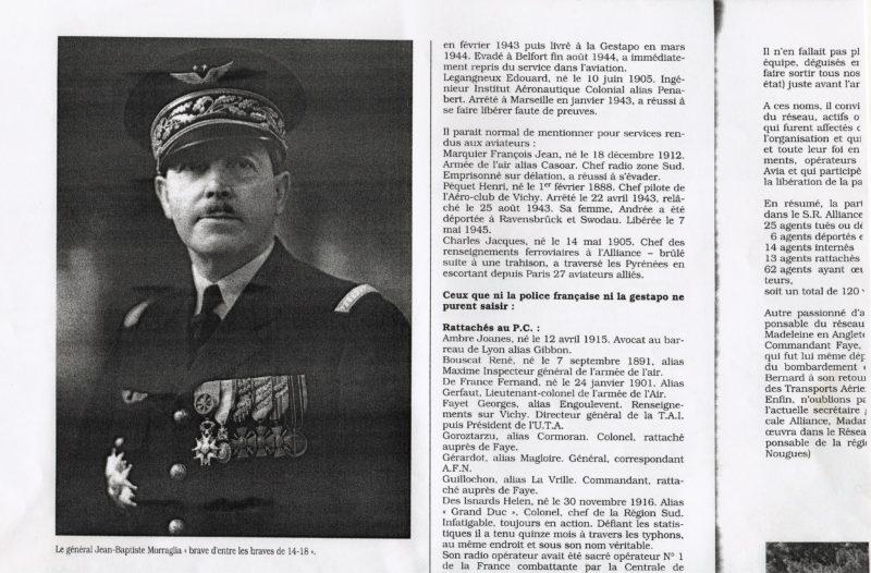 Icare Aviateurs et résistants 1994 Jacques Charles