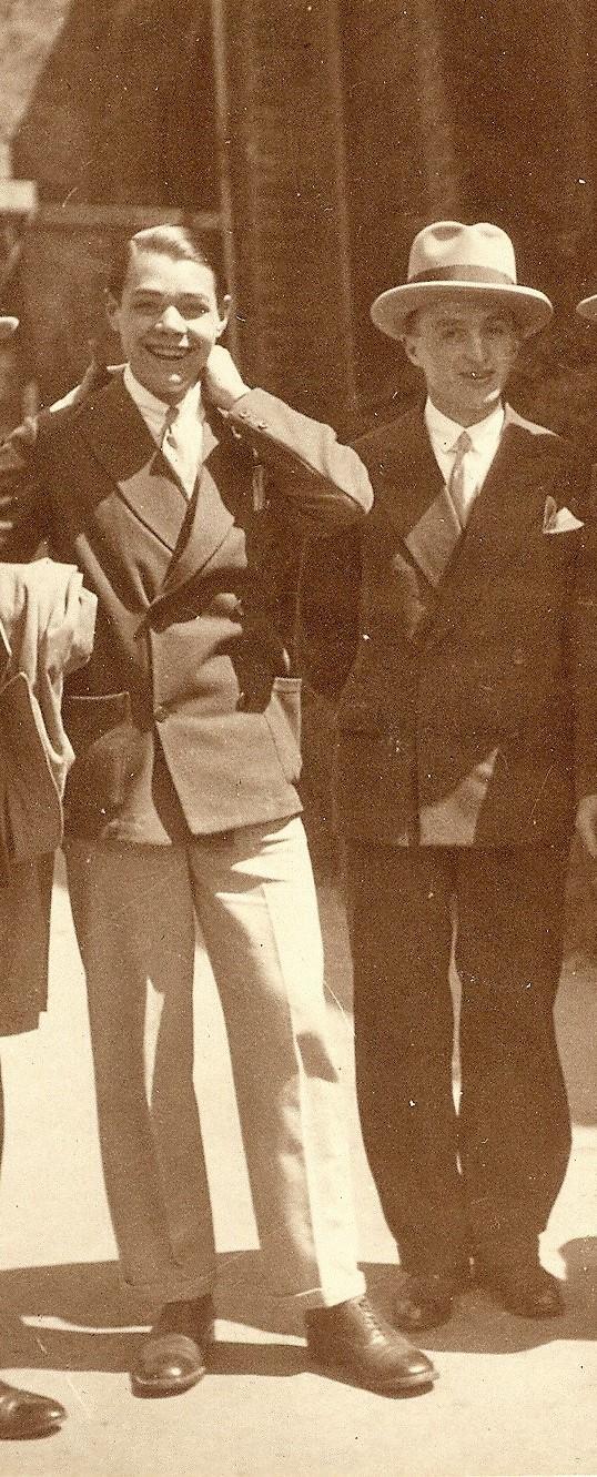 Henri FREMENDITY (Balbuzard) et Georges CHARLES (Marsouin) du Réseau SR ALLIANCE à BOULOGNE SUR MER