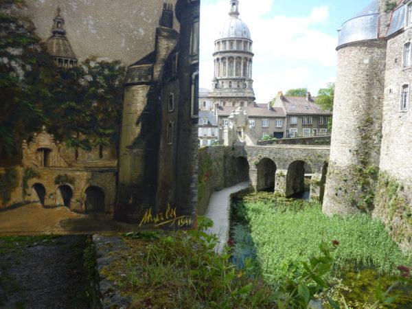 peinture georges Charles et chateau Boulogne
