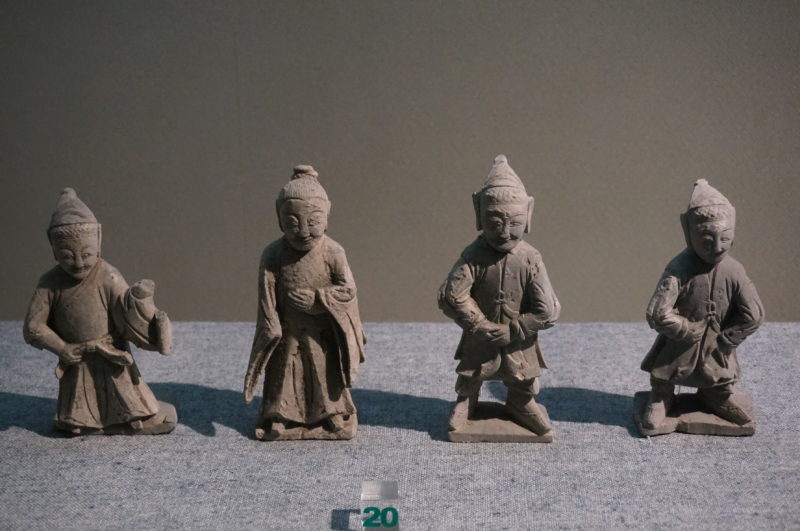 Statuettes Tang Qi Gong