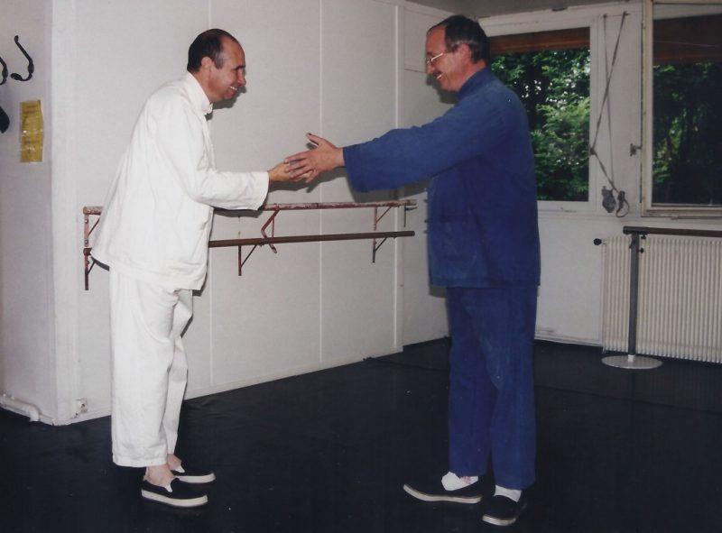 Georges Marie Melin et Georges Charles Remise de Diplôme San Yiquan