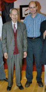 Professeur Leung Kok Yuen et Georges Marie Melin
