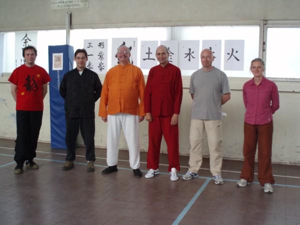 Les Enseignants San Yiquan de JinDing à Reims
