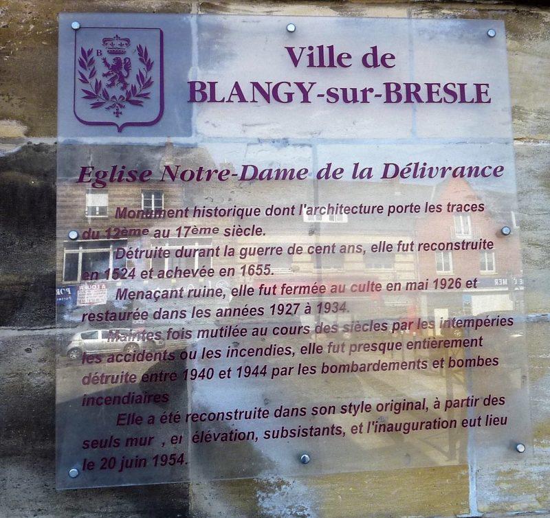 Notre-Dame de la Délivrance Blangy sur Bresle (76)
