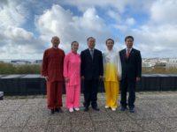 Delegation chinoise Brest