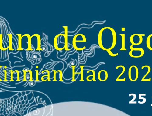 Forum de Qigong – Xinnian Hao 2020