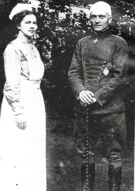 Manfred et infirmière