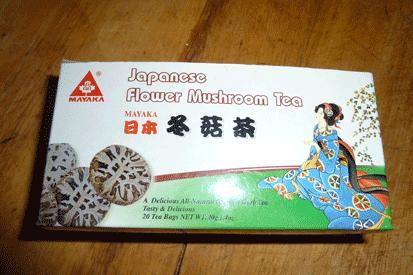 thé au champignons