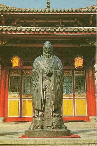 Statue de Confucius