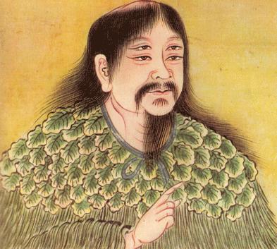 Empereur Sheng Nong inventeur du thé