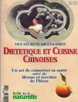 Cuisine et diététique chinoises Georges Charles