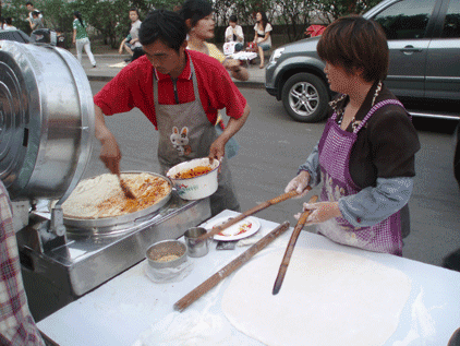 cuisine chinoise crèpes jiangxiang