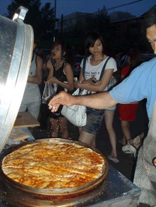 cuisine chinoises crèpes parfumées