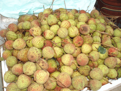 cuisine chinoise litchis