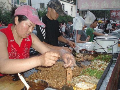 cuisine chinoise Rujiamo