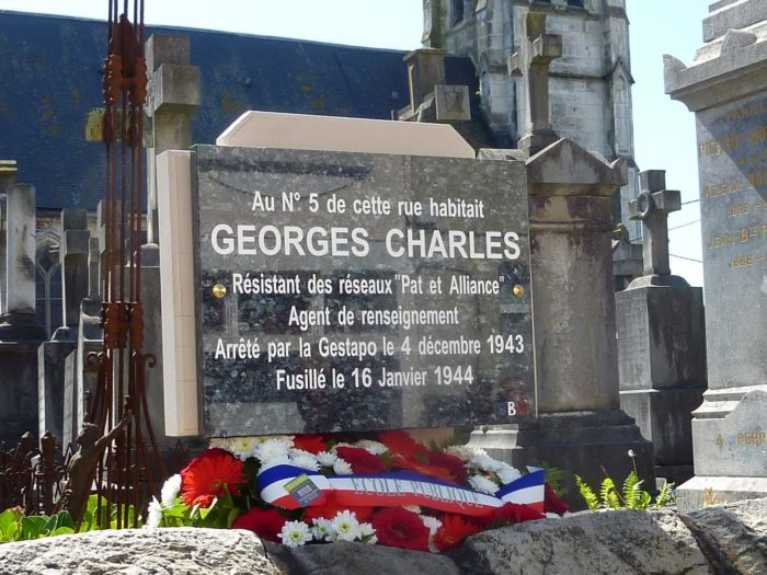 Georges Charles plaque Neufchatel 1
