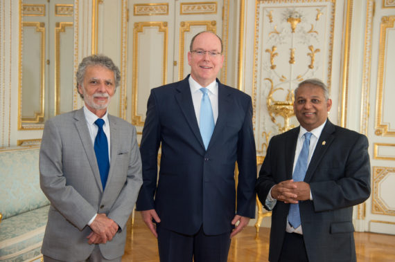 Lettres de Créance - Sri Lanka 2018 Monaco. William Piccione - © Eric Mathon/Palais Princier