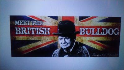 Churchill et Union Jack