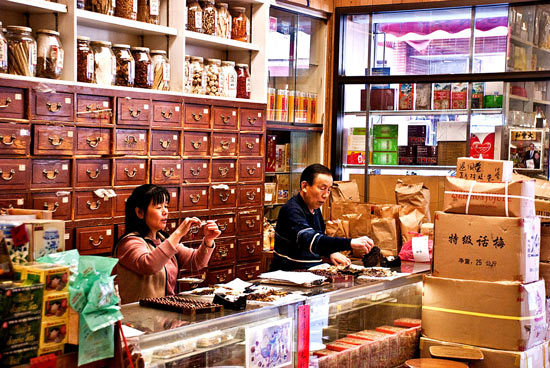 pharmacie chinoise traditionnelle